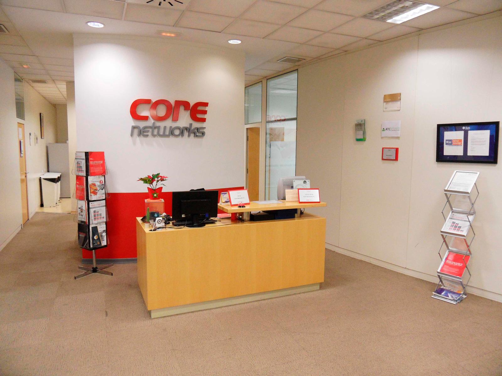 Recepción | Core Networks