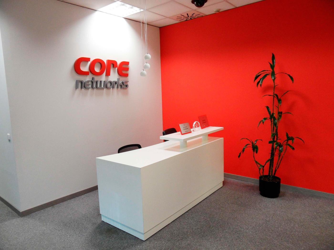 Zona de oficina | Core Networks