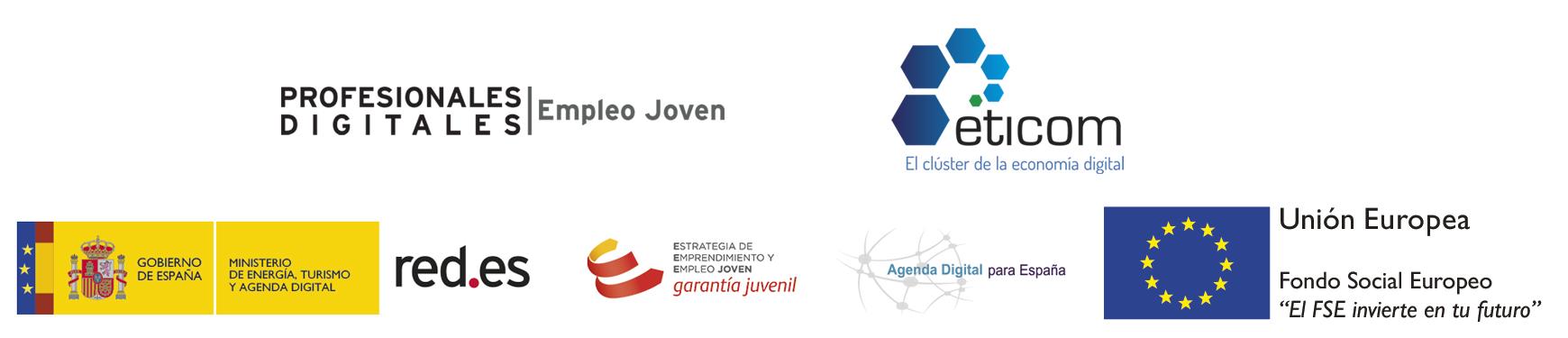Logos programa Red.es