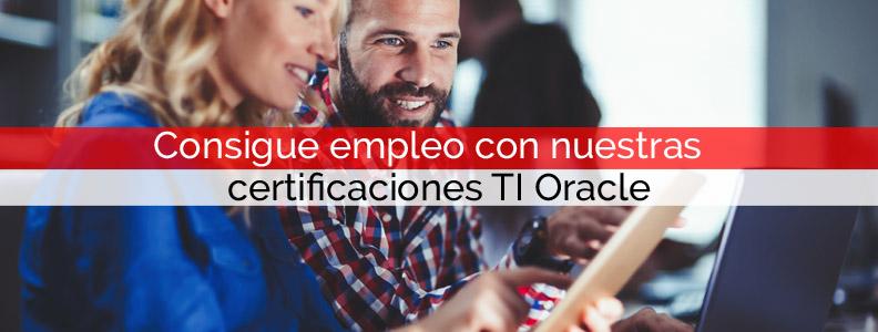 Consigue empleo con nuestras certificaciones TI Oracle | Core Networks