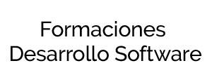 Formaciones Desarrollo Software
