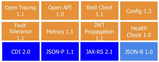 Rebase on Java EE 8